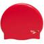 speedo Plain Moulded Bathing Cap Women red